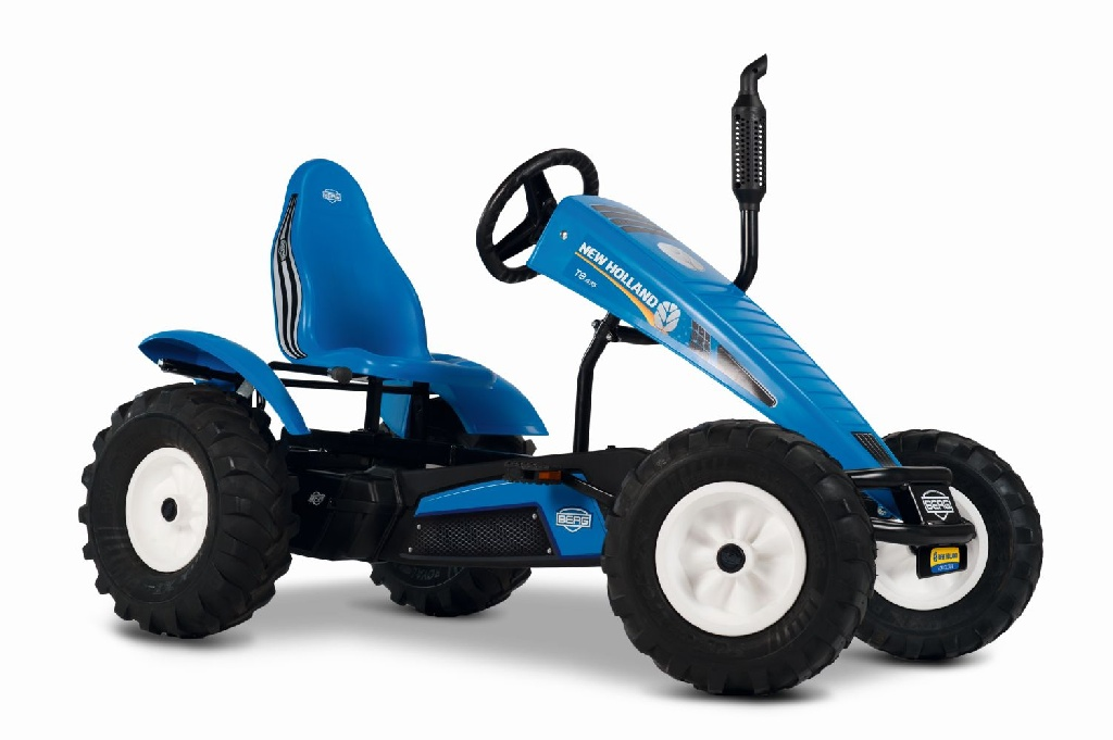 Веломобиль BERG XL New Holland BFR-3 фото